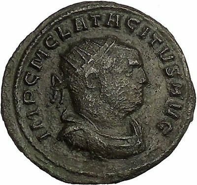 Tacitus  Rare 275AD Authentic  Ancient Roman Coin Goddess of forethought i52855