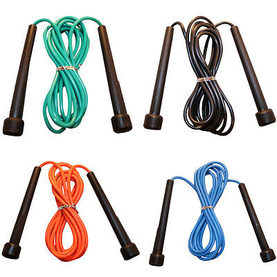 Cardio Skipping Speed Rope Lightweight Jump Hop MMA Exercise & Fitness Training