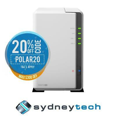 New Synology DS216SE Diskstation 2 Bay NAS