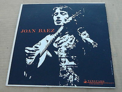 joan baez LP 33rpm record: JOAN BAEZ