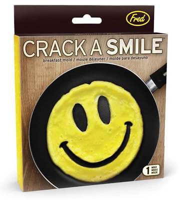 New Crack a Smile Shaped Scrambled Eggs Pancakes Breakfast Mould
