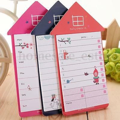Cute House Sticker Post Bookmark Marker Memo Flags Index Tab Lovely Sticky Notes