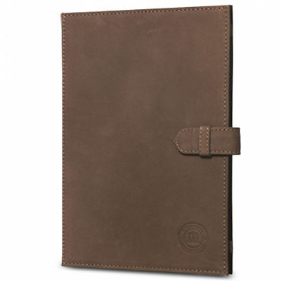 dbramante1928 Leather Folio Case for iPad 2, 3, and 4 - Hunter Brown - New