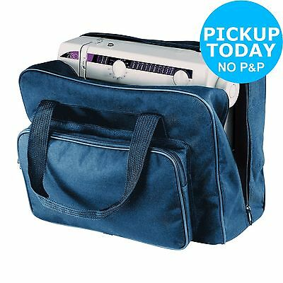 Heavy Duty Polyester Sewing Machine Carry Bag - Navy-From the Argos Shop on ebay