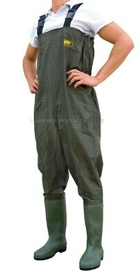 Stivale Scafandro Waders In Polyestere Size 42 Polyester Chest Wader
