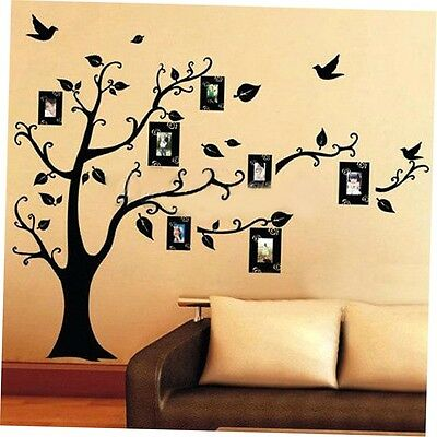Photo Tree Wall Stickers Removable Decal Home Decor DIY Art Decoration GO