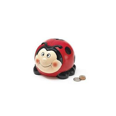 Adorable Ladybug Lady Bug Piggy Bank Great Gift New