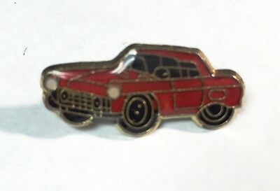 Red Car - Lapel Or Hat Pin - Auto
