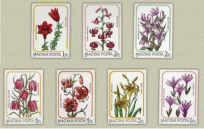 Hungary 1985. Flowers Lilly set MNH (**) Mi.:5 EUR