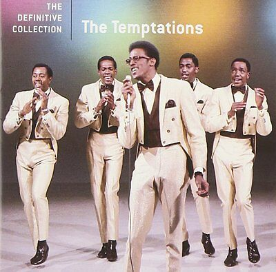 The Temptations ( New Sealed Cd ) Definitive Greatest Hits / The Very Best Of