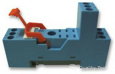 S-12 - Releco - Relay Socket, Din Rail, Dp Format