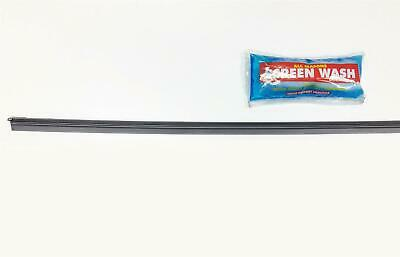 Replace Rear Wiper Blade Damaged Rubber With Refill - 1Pc & Screen Wash