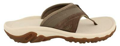 Men?S Teva Pajaro Sandal Thong Sandal Leather Mens Flip Flops Shoes Low Heel