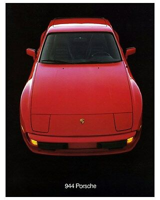 1983 Porsche 944 Automobile Photo Poster zca3338