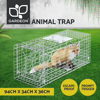 Extra Large Humane Animal Trap Cage Possum Fox Koala Rabbit Bird Cat Live Catch