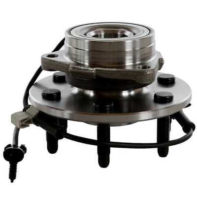 New Front Wheel Hub & Bearing w/ ABS for Cadillac Chevy GMC Pickup Truck 4X4 4WD