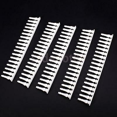 5pcs White Cute Building Model Guardrail 1:20-25 G Scale ABS indoor scenery Deco