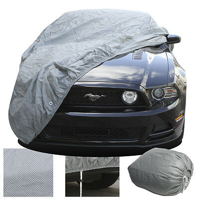 FULL Car Cover Indoor Outdoor Dust Scratch Protection Breathable Semi Custom Fit