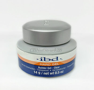 IBD Builder Gel CLEAR 0.5oz/14g- ideal for tip overlays and sculpting