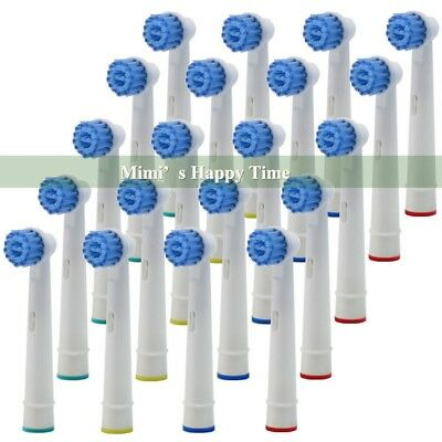 20X Electric Tooth brush Heads Replacement for Braun Oral B Sensitive Clean