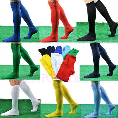 New Sports Over Knee Long Socks Mens Women Football Soccer Hockey Rugby Stocking
