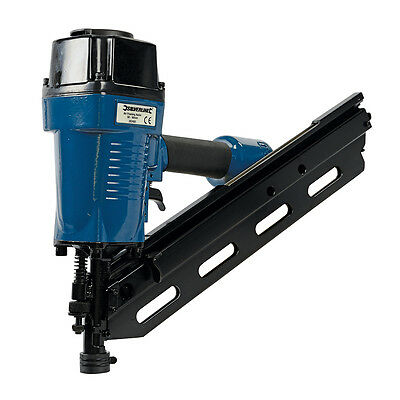 Silverline Air Framing Nailer 90mm 10 - 12 Gauge 282400 framing decking fencing