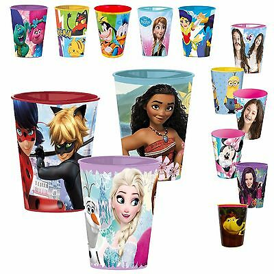 Disney Kinder Becher Trinkbecher 260ml Kinderbecher Kunststoff Frozen Violetta