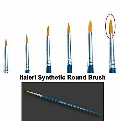 Italeri Model Tool - 6 Brush Synthetic Round - A51209 - New