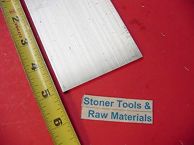 "1/8"" X 3"" ALUMINUM 6061 FLAT BAR 5"" long T6511 .125"" Cut New Mill Stock"