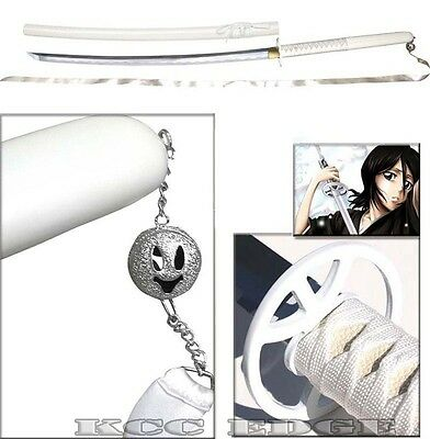 "RAZOR SHARP 43"" Japanese BLEACH RUKIA SODE NO SHIRAYUKI ZANPAKUTO REAL Sword"