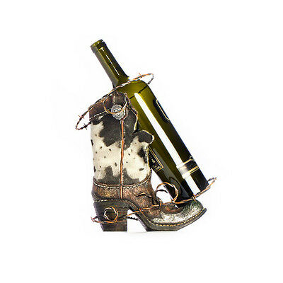 Bar Display Décor Table Tools Barware Cowboy Boot Bottle Holder Decoration Gift