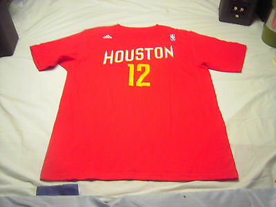 NBA HOUSTON ROCKETS HOWARD #12 Red Short sleeves T-shirt size L The Go-To Tee