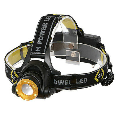 Ck Tools Rechargeable Cree Xm-L T6 Led 3 Mode 200 Lumens Head - Flash Torch