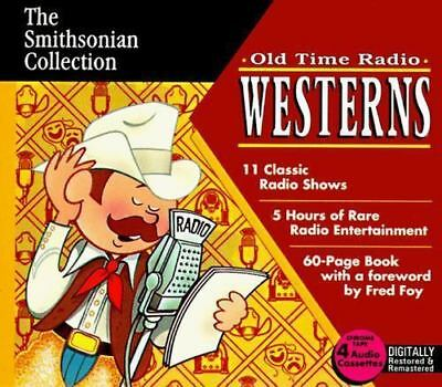 Old Time Radio Westerns (1996, Cassette / Hardcover, Collector's)