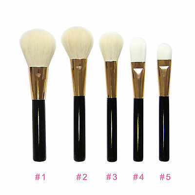 Pro Makeup Set Blush Cheek Brush Foundation Bronzer Powder Kabuki Brushes Kit