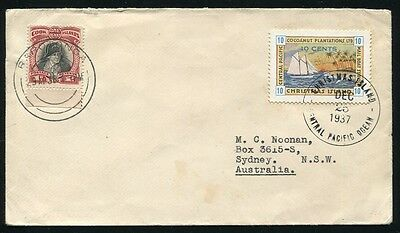 Christmas Island Christmas Day Cook Islands Captain Cook Combination 1937