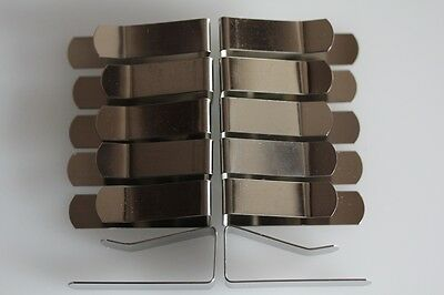4 DRAWING BOARD CLIPS Budget Steel  Same Day Despatch British Seller