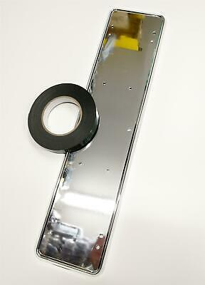 Quality Add On Chrome Car Licence Plate Stylish Surround & 19mm Doublesided Tape