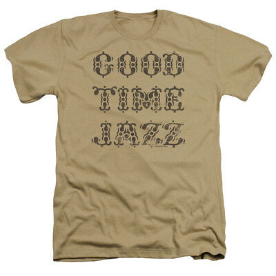 Concord Music Group Good Time Jazz Vintage Sand Logo Adult Heather T-Shirt