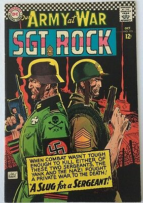 Our Army At War #172,  Oct 1966, DC Comics,  Very Fine