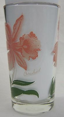 Orchid Peanut Butter Glass Glasses Drinking Kitchen Mauzy 75-2