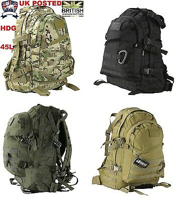 Kombat 45L Special Ops Rucksack Back Pack Btp British Army Multicamo Mtp Assault
