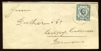 Montenegro 1895 Cover To Germany