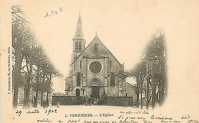 91 Verrieres Eglise Animee