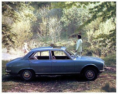 1974 Peugeot 504 Limousine TI Factory Photo ca3606