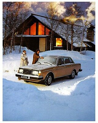 1980 Volvo 264 Bertone Factory Photo ca3617