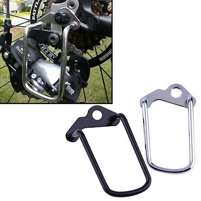 Cycling Bike Aluminum Bicycle Rear Gear Derailleur Chain Stay Guard Protector GO