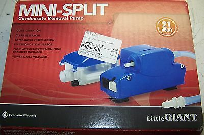 New Little Giant Ec-1 Condensate Removal Pump Mini Split 208/230 V