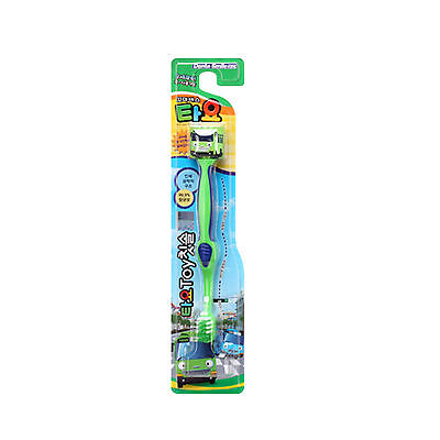 Tayo The Little Bus Toothbrush With Toy Figure Rogi