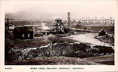 Abernant, Aberdare. River Level Colliery # S 6767 by WHS Kingsway.